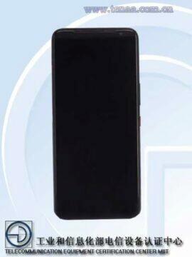 Asus ROG Phone 3 TENAA certifikace displej