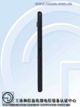 Asus ROG Phone 3 TENAA certifikace levy bok