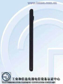 Asus ROG Phone 3 TENAA certifikace pravy bok