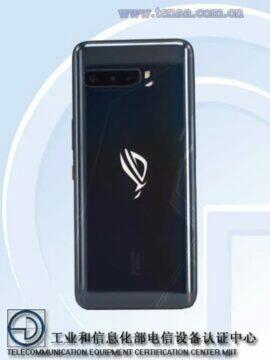 Asus ROG Phone 3 TENAA certifikace zada