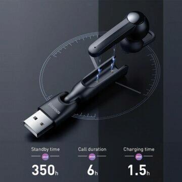 Baseus hands-free s povedenou nabíječkou nabíjení