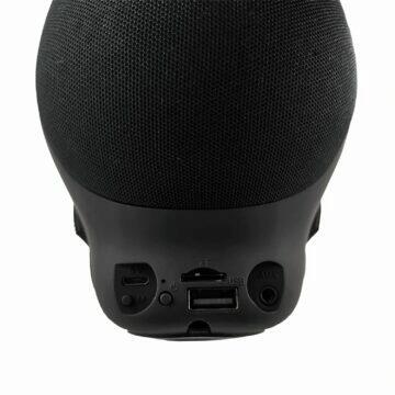 Bluetooth reproduktor ve tvaru lebky zadní strana