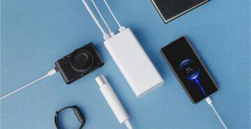 Xiaomi powerbanka Mi 3 možnosti zapojení
