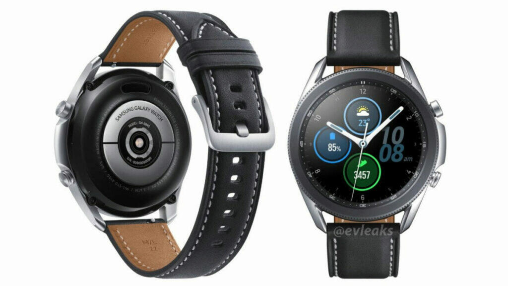 design Samsung Galaxy Watch 3 evleaks