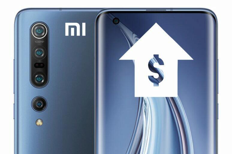 dražší vlajkové mobily Xiaomi