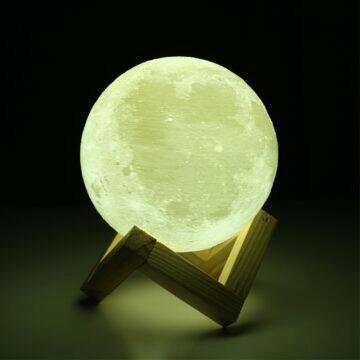 Elegantní lampa v podobě měsíce 1