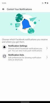 Facebook aplikace digitalni rovnovaha novy vzhled 4