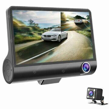 Full HD autokamera se třemi záběry 1