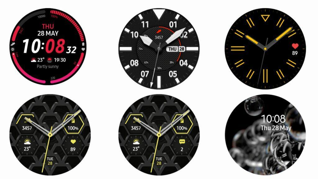 Galaxy Watch 3 ciferníky
