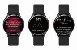 Galaxy Watch Active 2 měření tlaku