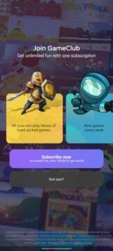 GameClub Android cena
