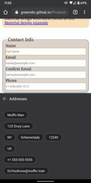 google-chrome-android-nove-automaticke-vyplnovani nove adresa