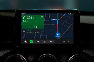 google mapy android auto