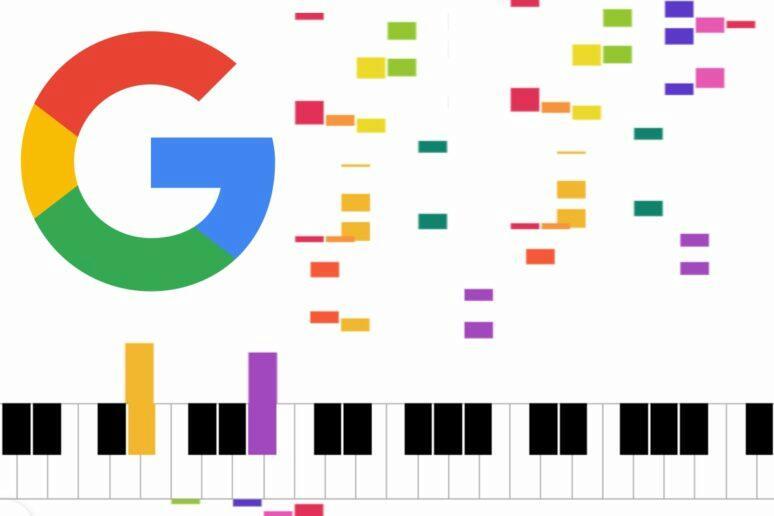 Google sdílené online piano