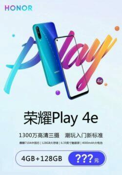 honor play 4e specifikace