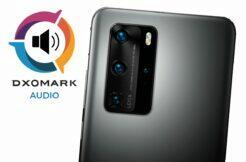 Huawei P40 Pro DxOMark audio