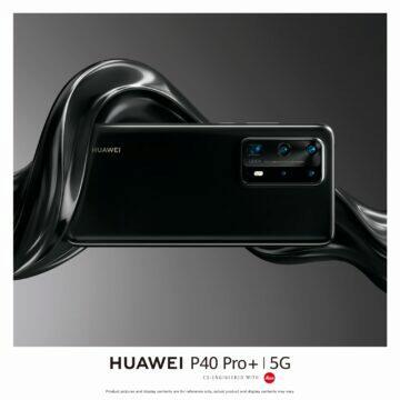 Huawei P40 Pro Plus dostupnost v Evropě černá