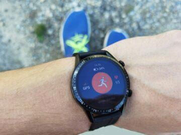 Huawei Watch GT 2 běh