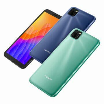 Huawei Y5P displej barvy