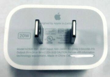 iphone 20w nabíječka