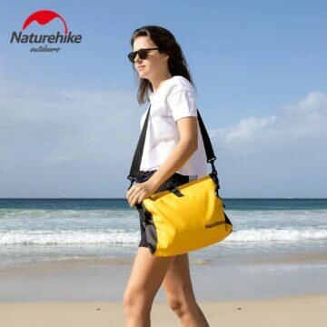 chytrá výbava na pláž Nepromokavá taška Naturehike pláž