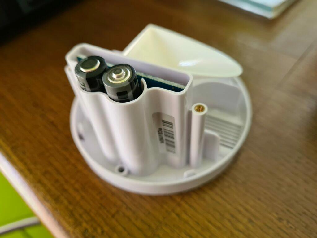 Netatmo anemometr a srážkoměr baterie
