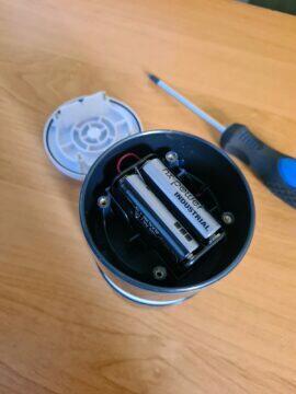 Netatmo anemometr výměna baterií 2
