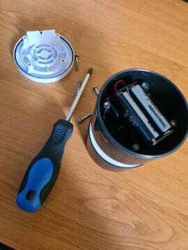 Netatmo anemometr výměna baterií 3