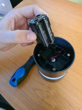 Netatmo anemometr výměna baterií 4