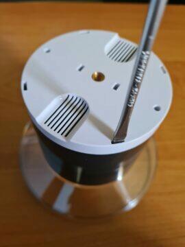 Netatmo srážkoměr výměna baterií 2