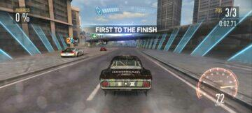 NFS No Limits screen 2
