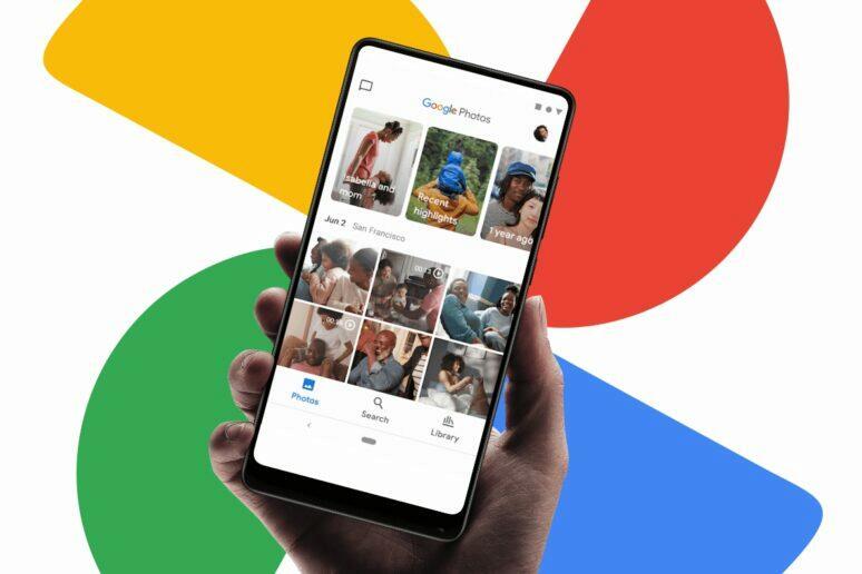 nová aplikace Google Fotky