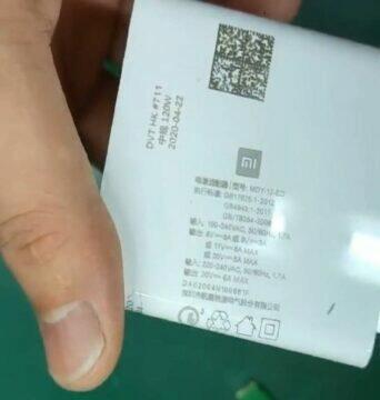 nová Xiaomi nabíječka 120 W varianty