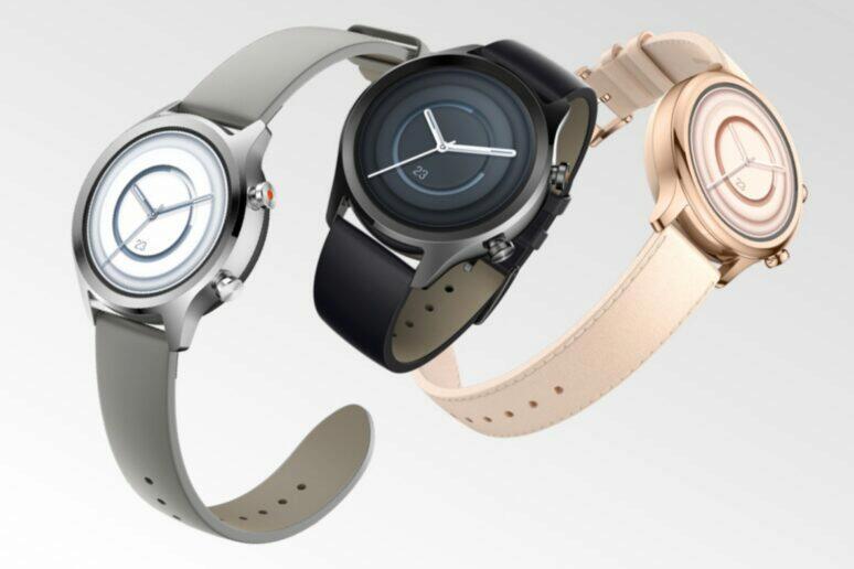 nově představené hodinky TicWatch C2+