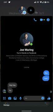 novinky android 11 beta bubliny pro chatovací nástroje 2