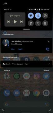 novinky android 11 beta bubliny pro chatovací nástroje 3