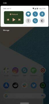 novinky android 11 beta nove ovladani medii 1