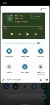 novinky android 11 beta nove ovladani medii 2