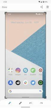 novinky android 11 beta nové úpravy aktuálního screenshotu 2