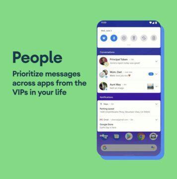 novinky android 11 beta přijaté zprávy v notifikačním panelu