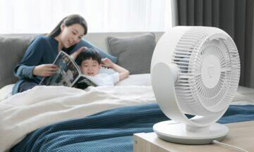nový Xiaomi Mijia ventilátor loznice