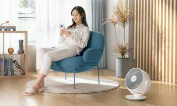 nový Xiaomi Mijia ventilátor ovladani
