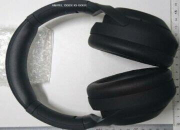 odhalení Sony WH-1000XM4 fotka 3