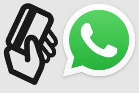 platby přes WhatsApp