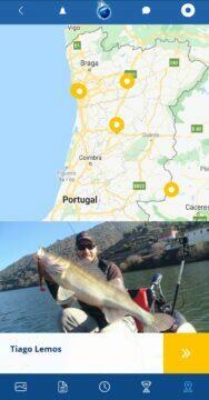 plná verze aplikace Fishsurfing průvodci Portugalsko
