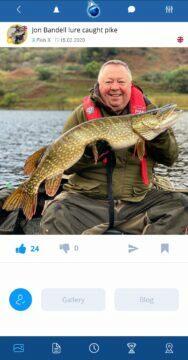 plná verze aplikace Fishsurfing uživatelé Jon