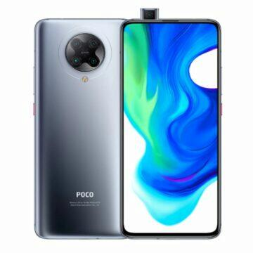 POCO F2 Pro telefony v akci bila seda