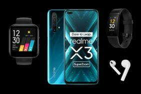 Realme X3 SuperZoom Band Watch Buds