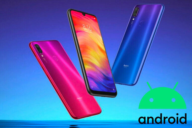 redmi note 7 pro android 10