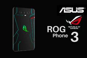 rog phone III brzký příchod